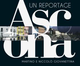 """Copertina del libro """"Ascona. Un reportage"""""""