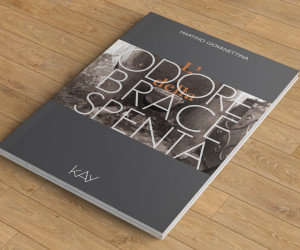 """Copertina del libro """"L'odore della brace spenta"""""""